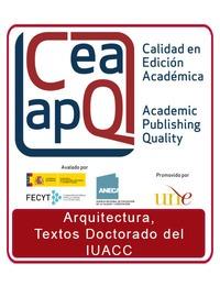 Colección: ARQUITECTURA, TEXTOS DOCTORADO DEL IUACC